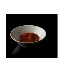 Pimenton picante en tarro de cristal 70 grs tapa negra