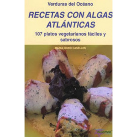 Libro con Recetas con Algas Atlánticas