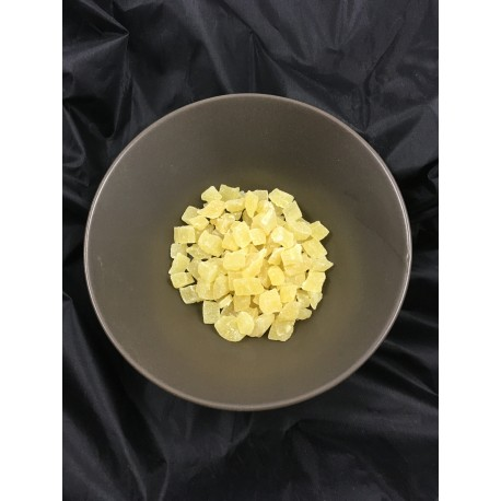 Pina deshidratada dados a granel