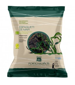 Alga Espaghetti de Mar bolsa 50 grs PORTOMUIÑOS