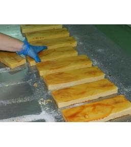 Turrón de crema catalana elaboracion