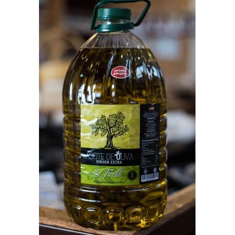 Aceite de Oliva Virgen Extra 5 LItros Arbequina