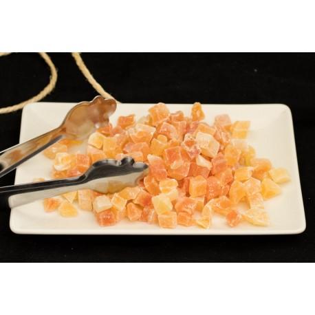 Papaya en dados a granel