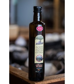 Aceite de oliva virgen extra Arbequina cristal 0,5l