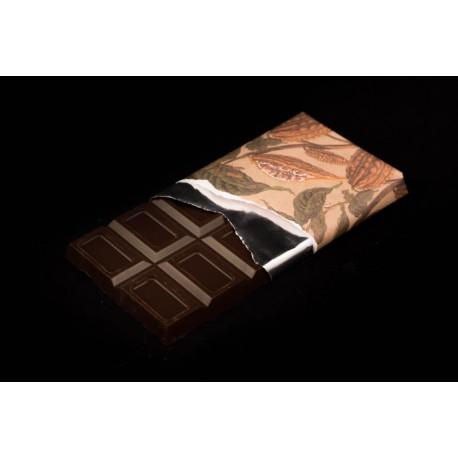 Chocolate negro con café tableta 125g