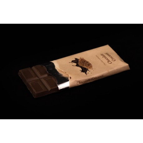 Chocolate con leche y crocanti tableta 125g