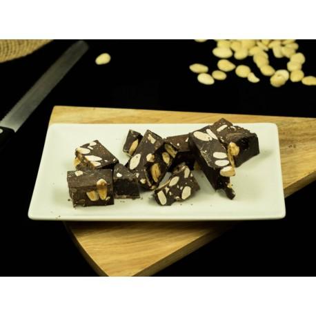 Turrón de chocolate con Almendras 150g