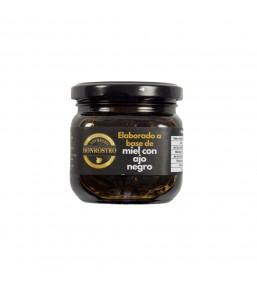 Miel con ajo negro en tarro 220g