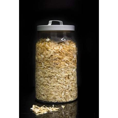 Cebolla en escamas a granel