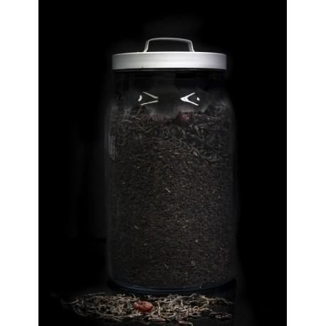 Té rojo pu erh de yunnan a granel