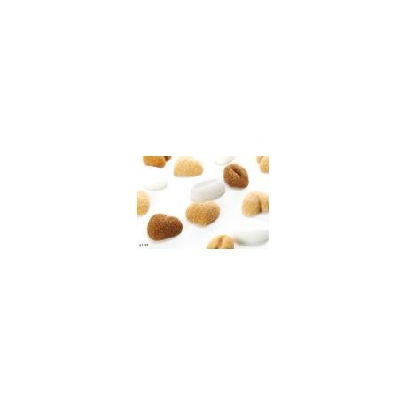 Azucarillos corazones/grano cafe pvp por Unidad